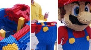 Super Mario Bros gigante está à venda no eBay