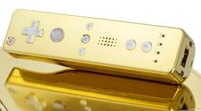 Wii de ouro por apenas 900 mil reais